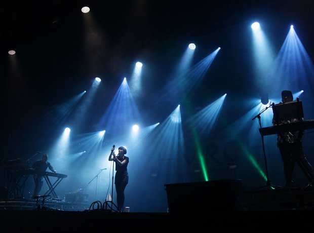 CHVRCHES at Bestival 2014