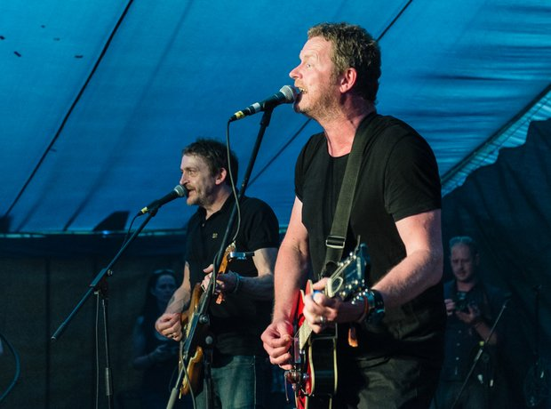 Dodgy at Isle Of Wight Festival 2016