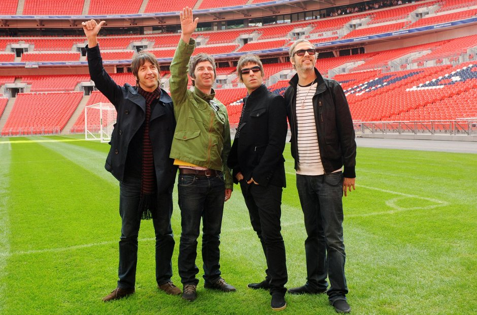 Oasis at Wembley Stadium