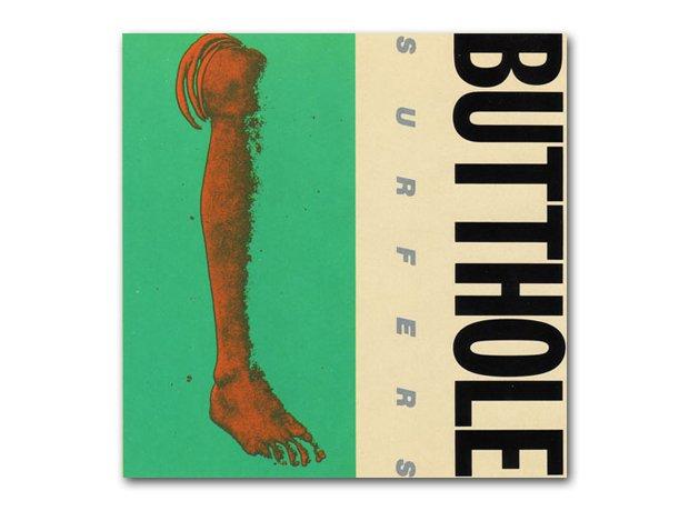 Butthole Surfers - Rembrandt Pussyhorse album cove