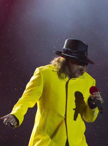Axl Rose worse dressed rock star