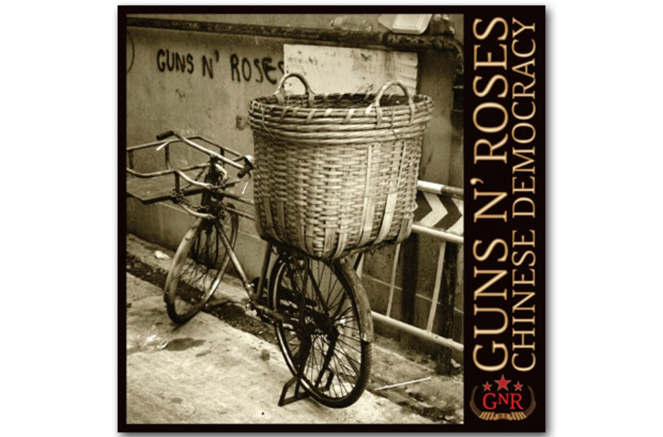 Guns N'Roses - Chinese Democracy album cover