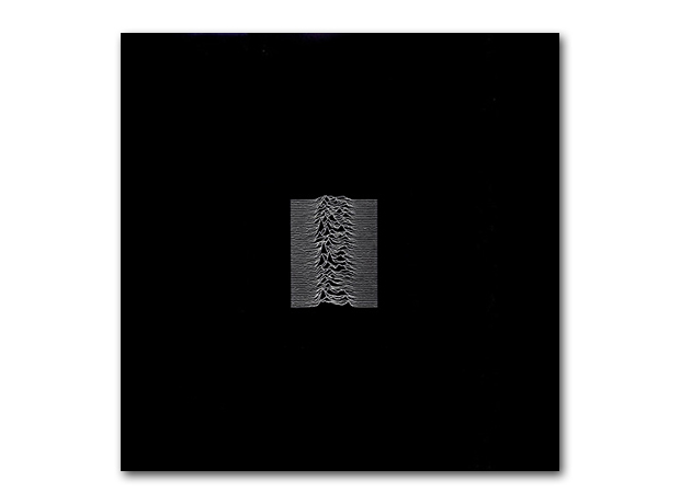 Joy Division - Unknown Pleasures album covers