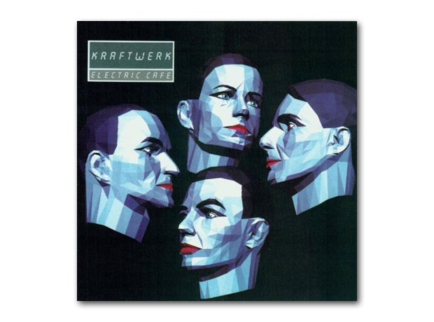 Kraftwerk - Electric Cafe album cover