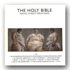 Manic Street Preachers - The Holy Bible album cove