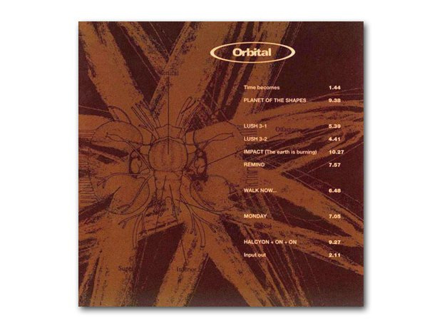 Orbital - Orbital (The Brown Album)