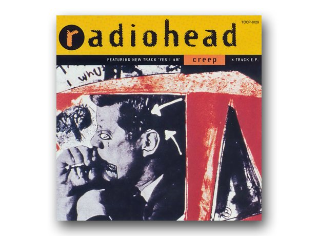 Radiohead - Creep album cover