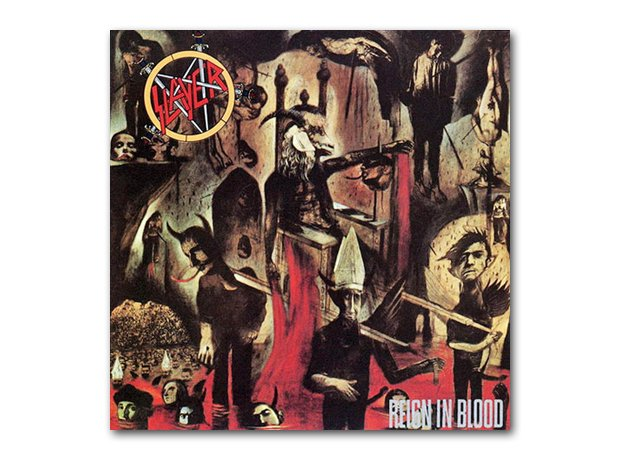 Slayer - Reign In Blood album cover