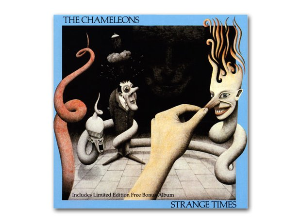 The Chameleons - Strange Times album cover