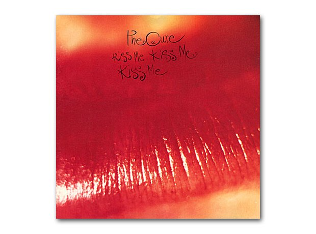 The Cure - Kiss Me Kiss Me Kiss Me album cover