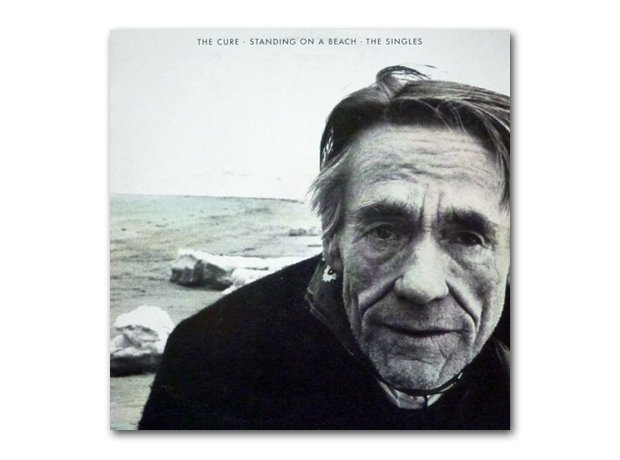 The Cure - Standing On A Beach album cover