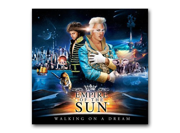 Empire Of The Sun - Walking On A Dream album cover