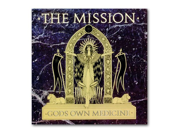 The Mission - God's Own Medicine album cover