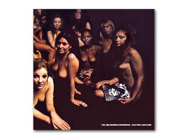 Jimi Hendrix - Electric Ladyland album cover