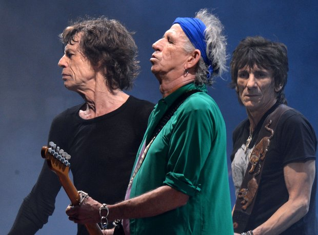 The Rolling Stones Glastonbury 2013