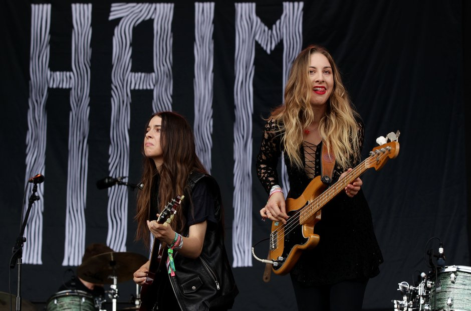Haim - Glastonbury 2013
