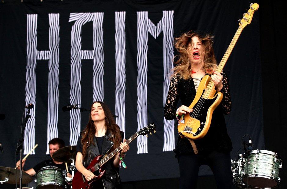 Haim - Glastonbury 2013