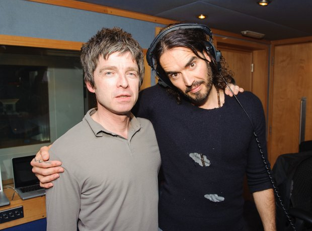 Russell Brand Noel Gallagher Radio X