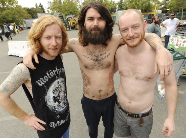 Biffy Clyro topless