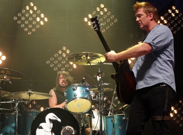 Dave Grohl and Josh Homme