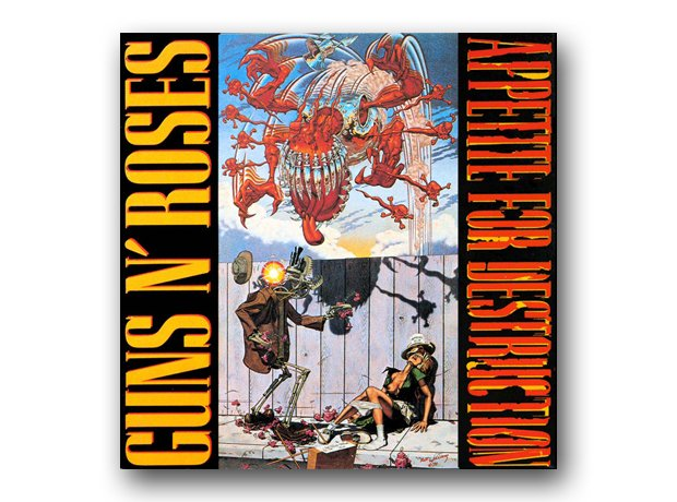 Guns N'Roses - Appetitie For Destruction