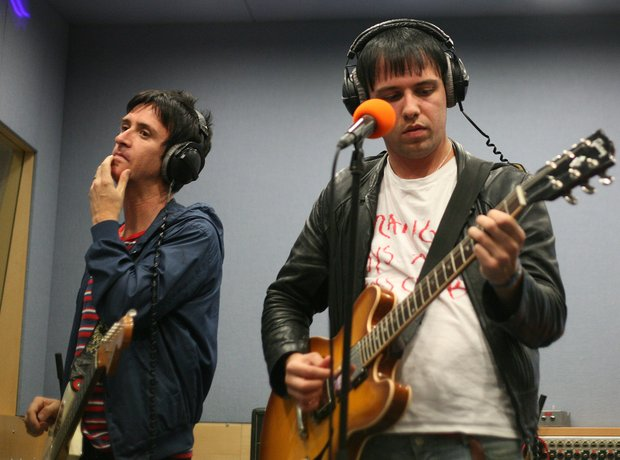 Johnny Marr and Ryan Jarman
