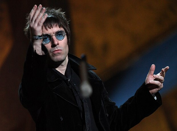Liam Gallagher BRIT Awards 2010