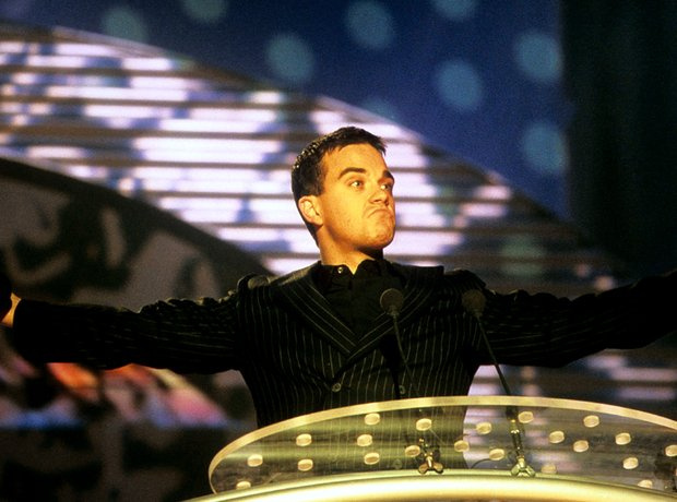 Robbie Williams BRIT Awards 2000