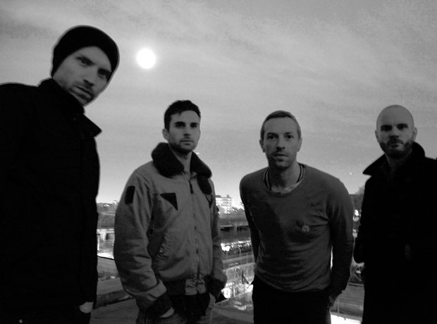 Coldplay 2014. Photo: Phil Harvey