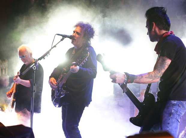 The Cure at Teenage Cancer Trust 2014