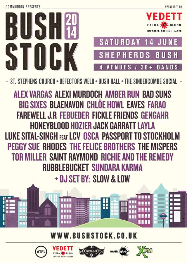 Bushstock 2014 Poster