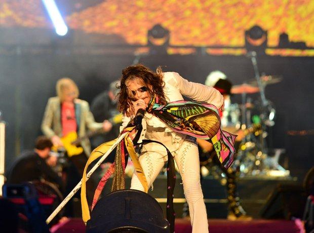 Aerosmith at Download Festival 2014
