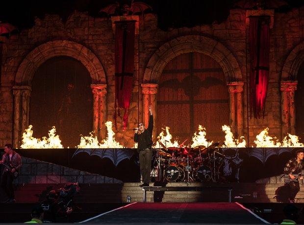 Avenged Sevenfold at Download Festival 2014