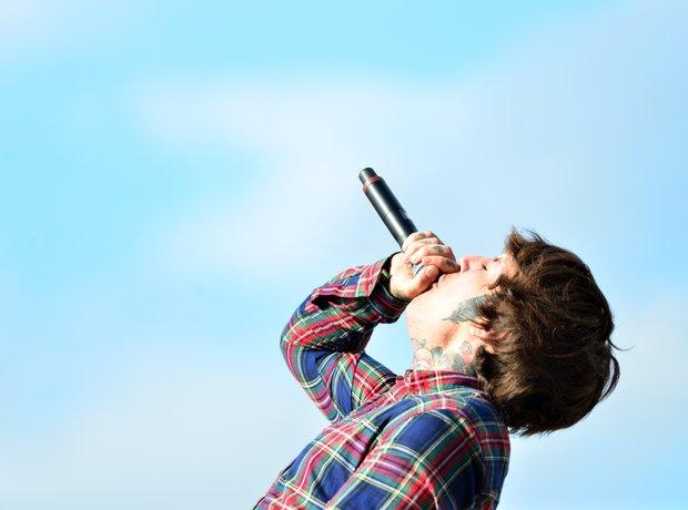 Bring Me The Horizon at Download Festival 2014