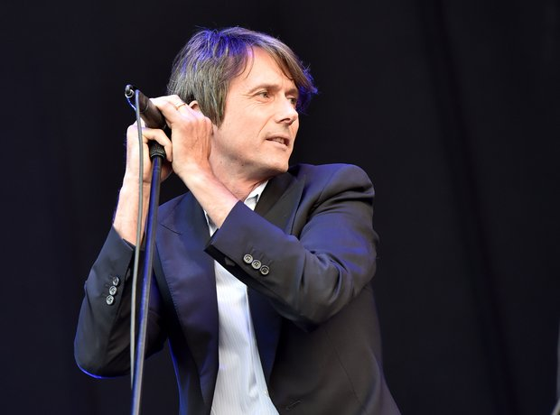 Suede at Isle Of Wight festival, 2014