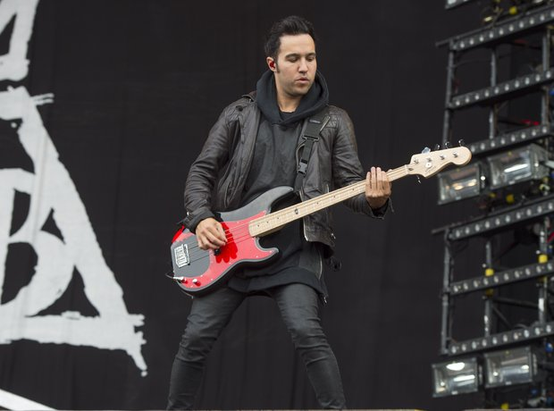 Fall Out Boy at Isle Of Wight Festival, 2014