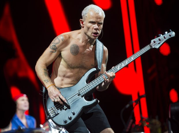Flea of Red Hot Chili Peppers, Isle Of Wight Festi
