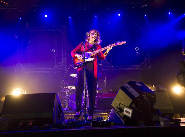 Anna Calvi at Isle Of Wight Festival 2014