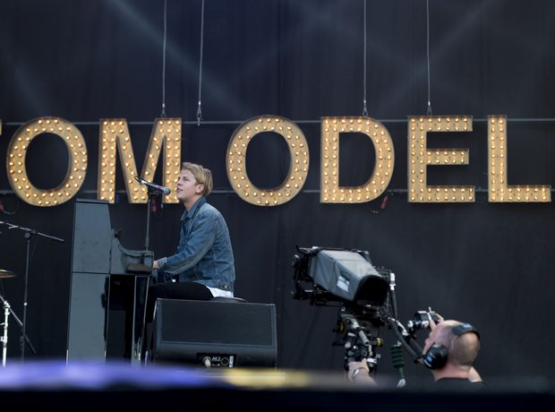 Tom Odell at Isle Of Wight Festival 2014