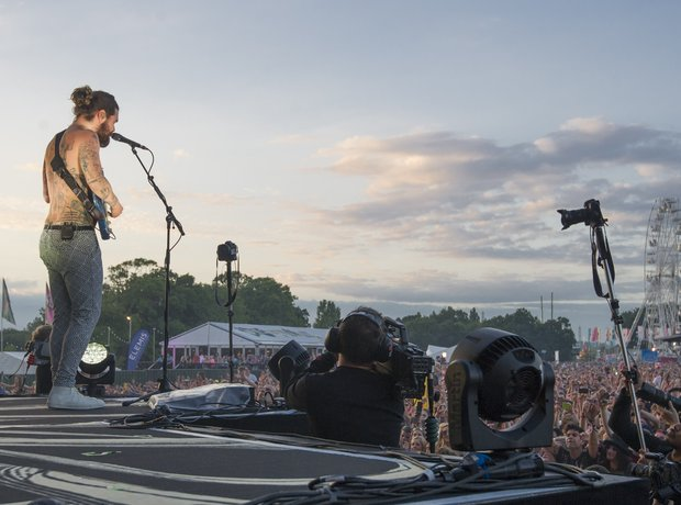 Biffy Clyro at Isle Of Wight Festival 2014