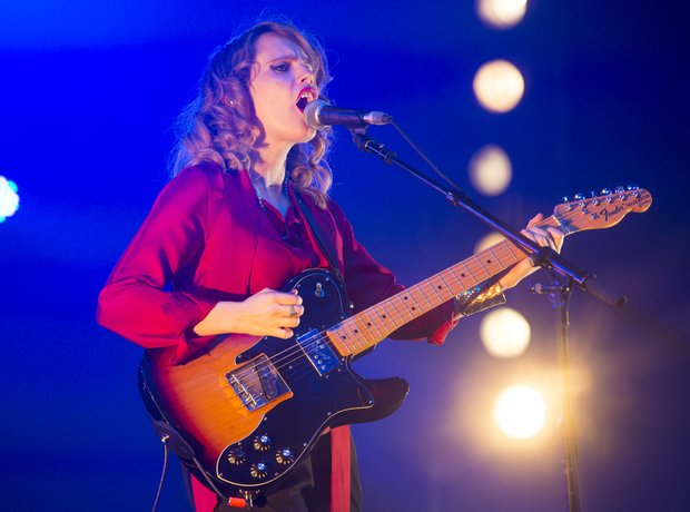 Anna Calvi at Isle Of Wight Festival 2014