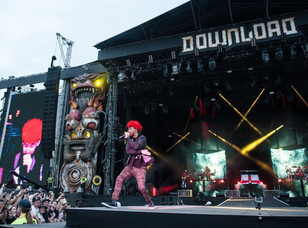 Linkin Park at Download Festival 2014