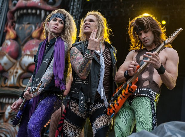 Steel Panther at Download Festival