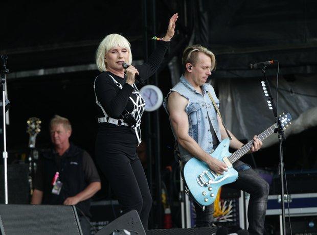 Glastonbury Blondie