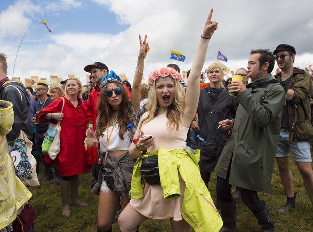 Glastonbury 2014 rain