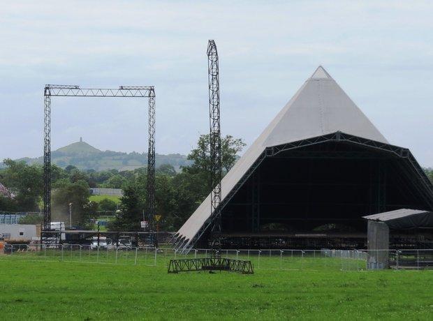 Glastonbury 2014 Pyramid Stage