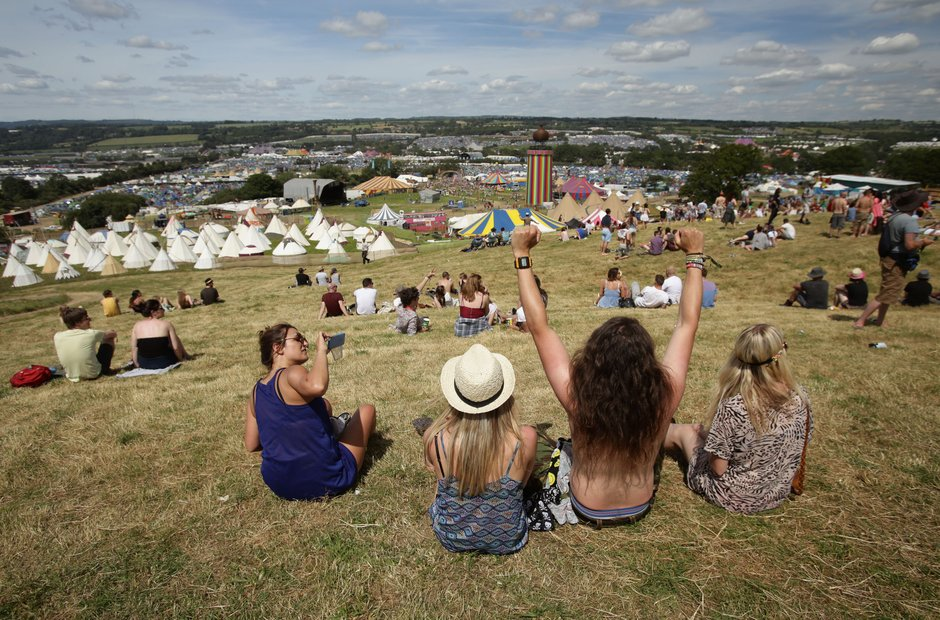 Glastonbury 2014 in pictures