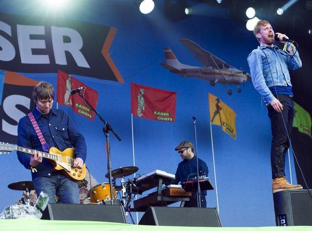 Kaiser Chiefs Glastonbury 2014