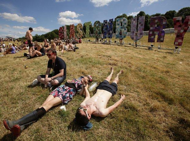 Glastonbury 2014 in pictures