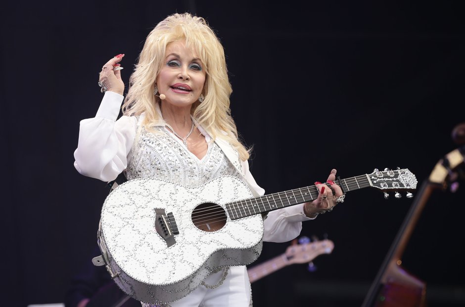 Dolly Parton Glastonbury 2014